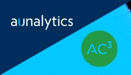 Aunalytics + AC3 logos