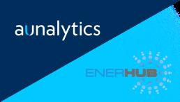 Aunalytics + Enerhub logos