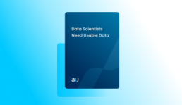 Data Scientists Need Usable Data